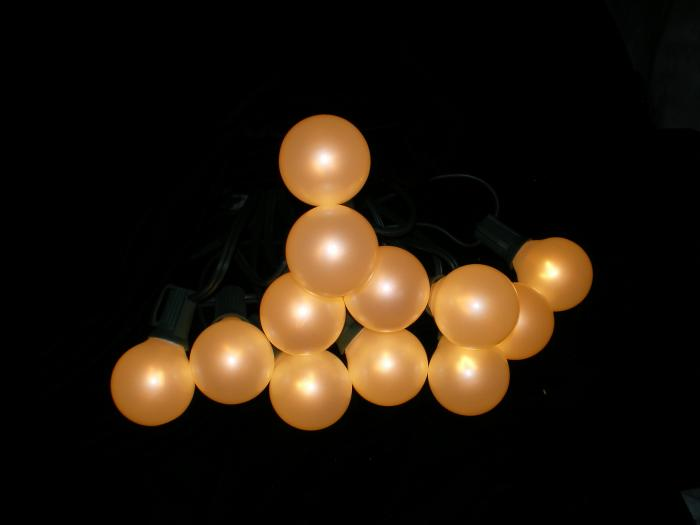 Pearl String Lights Multicolor : String Lights - Large, pearl